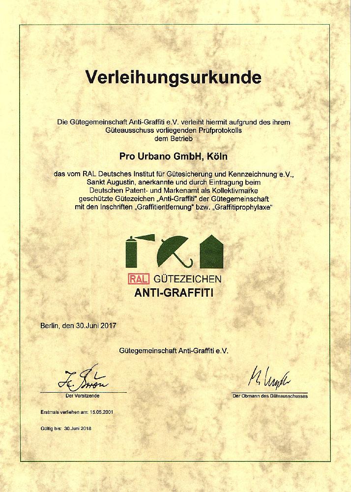 RAL-Guetezeichen-Urkunde