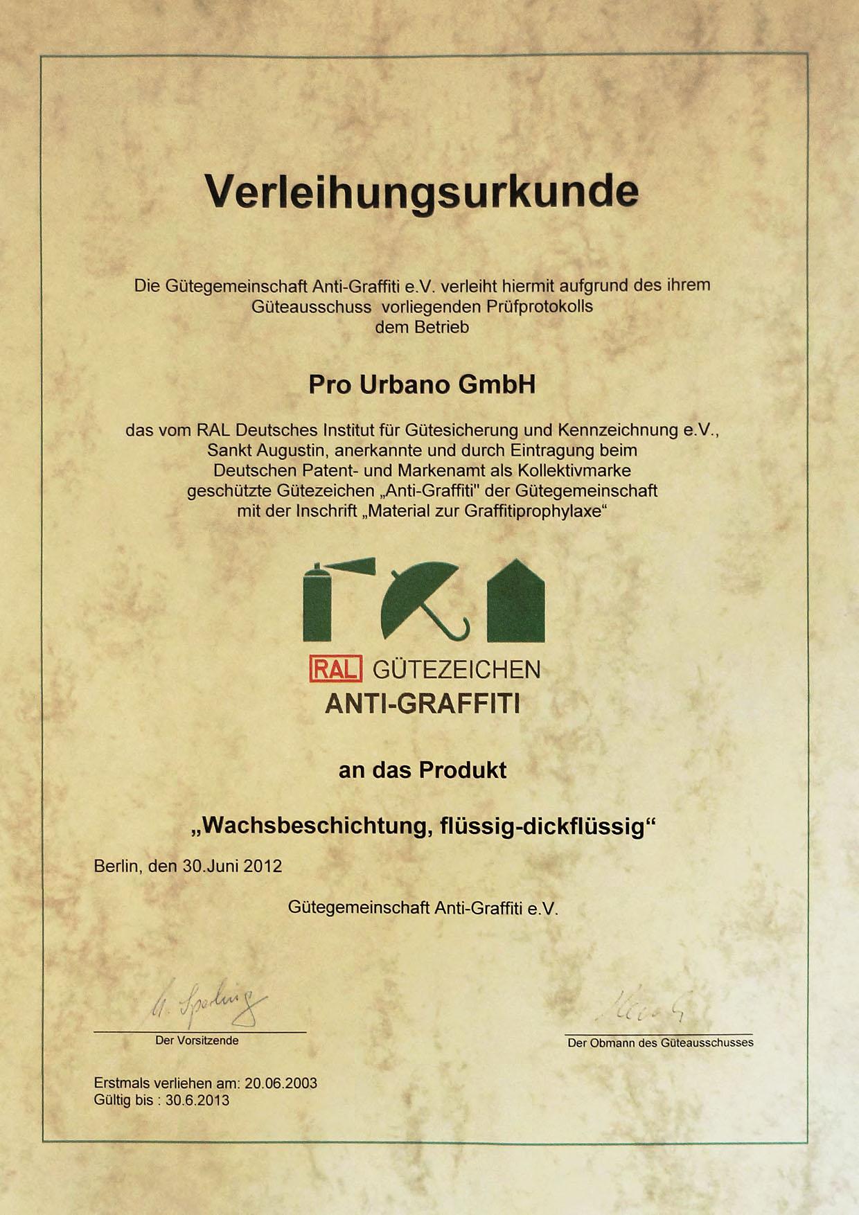 Urkunde_Wachsbeschichtung_2012